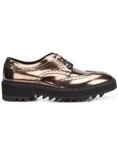 chunky sole metallic brogues Raparo