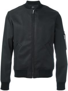 куртка бомбер на молнии A.P.C.