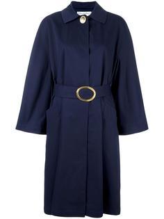 пальто с поясом Christian Dior Vintage