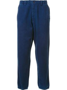 брюки с эластичным поясом Blue Blue Japan