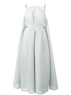 сетчатое расклешенное платье Maticevski