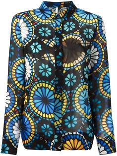 рубашка с узором Miahatami