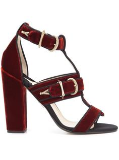buckled strappy sandals Paul Andrew
