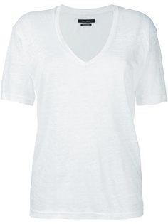 классическая футболка с V-образным вырезом Isabel Marant