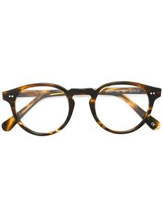 очки 'Gray' в черепаховой оправе Spektre