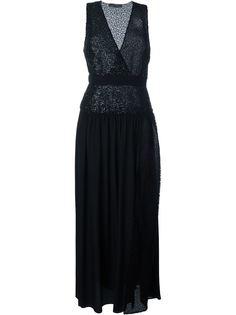 платье с пайетками  Emanuel Ungaro