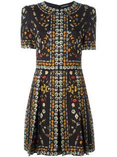 мини платье 'Obsession' Alexander McQueen