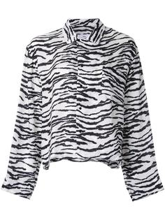 рубашка с зебровым принтом Toga