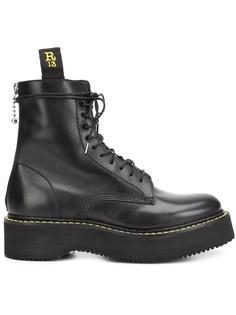 ботинки на шнуровке R13