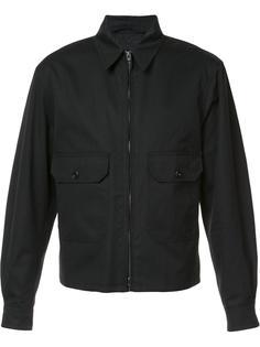 куртка-бомбер на молнии Lemaire