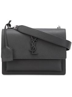 маленькая сумка-сэтчел 'Sunset Monogram' Saint Laurent
