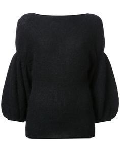 трикотажная блузка с объемными рукавами Theatre Products