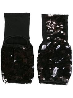 перчатки с пайетками Mes Demoiselles