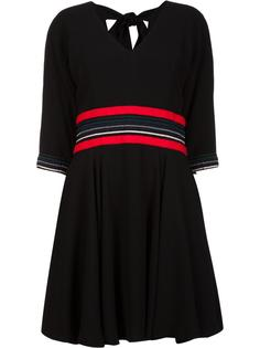 georgette flared dress Christian Dada