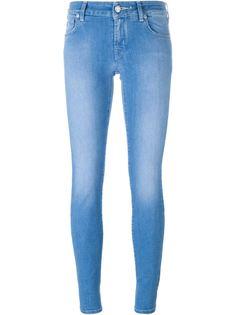 джинсы скинни с вышитым логотипом Jacob Cohen