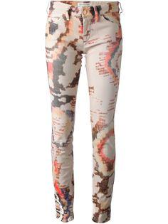 джинсы с принтом Isabel Marant Étoile