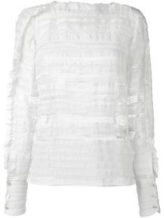 блузка с оборками Isabel Marant