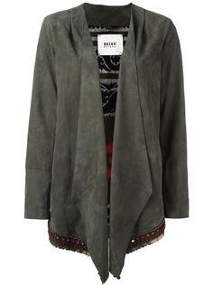 куртка с драпировкой Bazar Deluxe