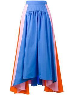 полосатая асимметричная юбка Peter Pilotto