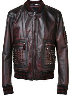 куртка-бомбер с заклепками Philipp Plein
