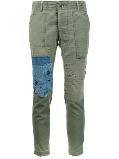 'GL1 Slim-fit Army' trousers Greg Lauren