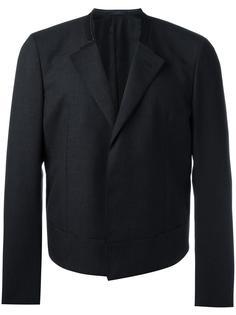 укороченный пиджак без воротника Lanvin