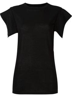 футболка с рукавами кап  Isabel Marant