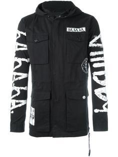 куртка с принтом и капюшоном Haculla