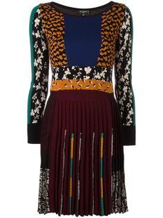 платье с узором и плиссировкой Etro