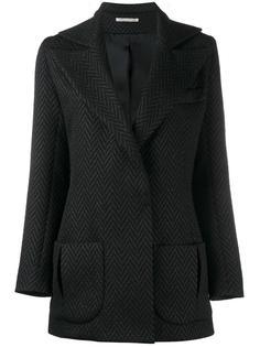 herringbone tuxedo jacket Emilia Wickstead
