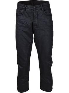 укороченные джинсы 'Torrence' Rick Owens DRKSHDW