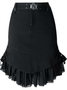 юбка с рюшами High