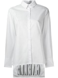 рубашка с асимметричным подолом Gaelle Bonheur