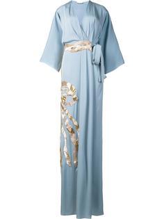 платье с металлизированной отделкой Vionnet