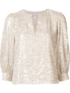 блузка с V-образным вырезом Elizabeth And James