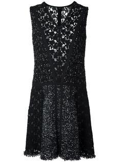 платье с V-образным вырезом Giambattista Valli