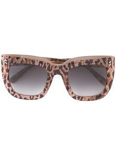 солнцезащитные очки с массивной квадратной оправой Stella McCartney