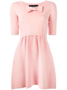 платье с бантом спереди Boutique Moschino