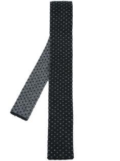 вязаный галстук с узором Drumohr