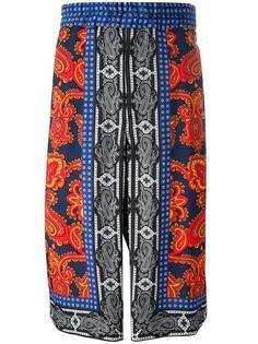 шорты с принтом пейсли Alexander McQueen