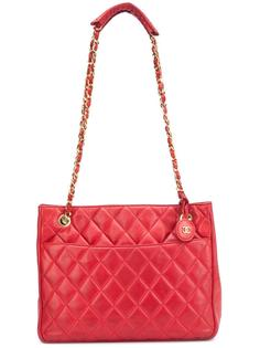 сумка-шоппер с логотипом Chanel Vintage