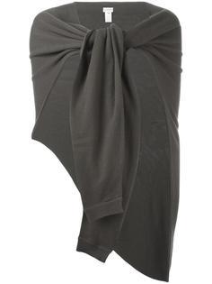 кашемировый асимметричный шарф Lemaire