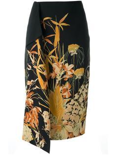 юбка с цветочным принтом Nº21