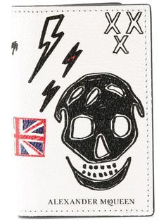 органайзер с рисунком черепа Alexander McQueen
