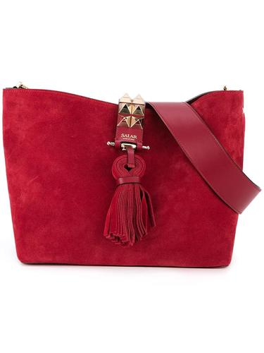 сумка на плечо с отделкой заклепками Salar