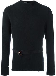 рваный свитер с круглым вырезом Givenchy