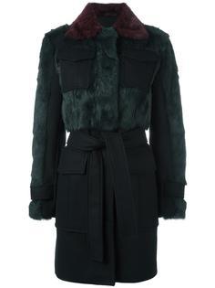 пальто с карманами с клапанами Sonia By Sonia Rykiel