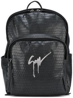 текстурированный рюкзак Giuseppe Zanotti Design