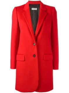однобортное пальто миди Alberto Biani