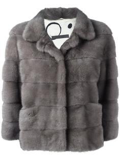 норковая куртка с рукавами три четверти Simonetta Ravizza